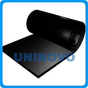 Inflaming retardingrubber sheet