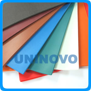 Food graderubber sheet