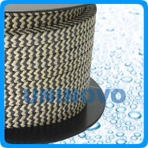 Graphited PTFE packing & Aramid in Zebra Braided Packing