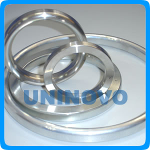 Oval type metal gasket